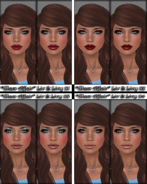 Glam Affair - Liv and Livy 01-04