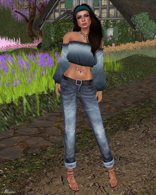 Lapointe & Bastchild - Swear Jeans Classic Boyfriend Women's Traditional-1