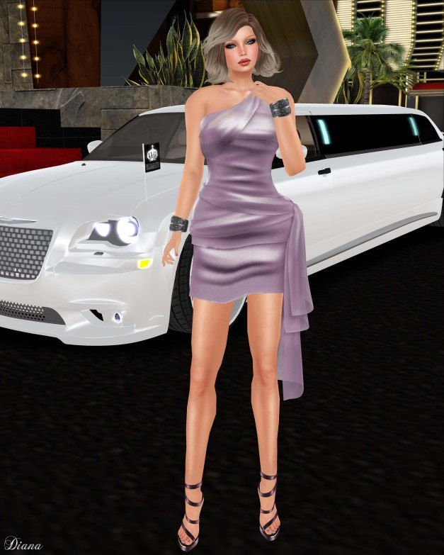 Valentina E - Isabella Dress Petal-1