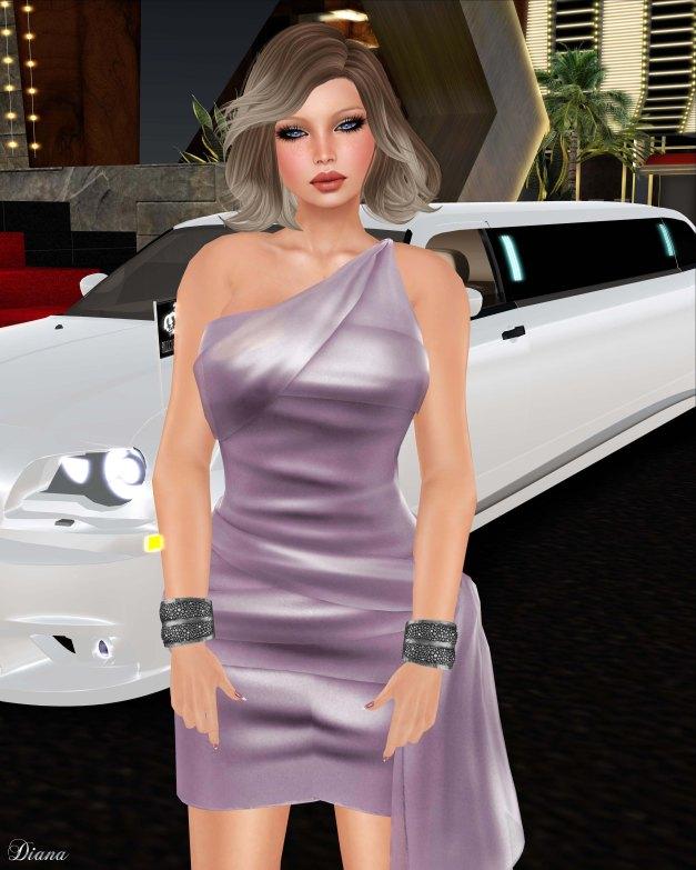 Valentina E - Isabella Dress Petal-2