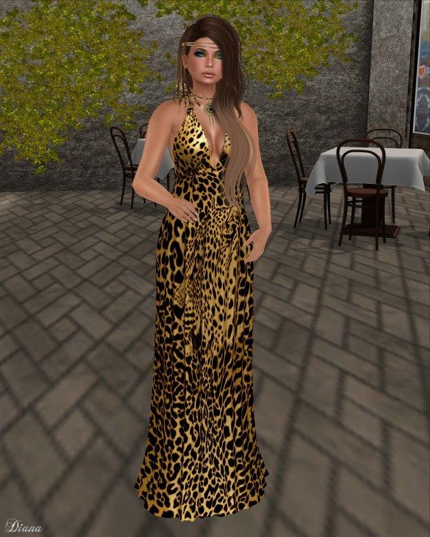 Baiastice - Bali Maxi Dress-lepard