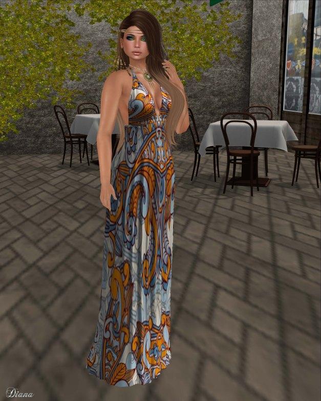 Baiastice - Bali Maxi Dress-paisley