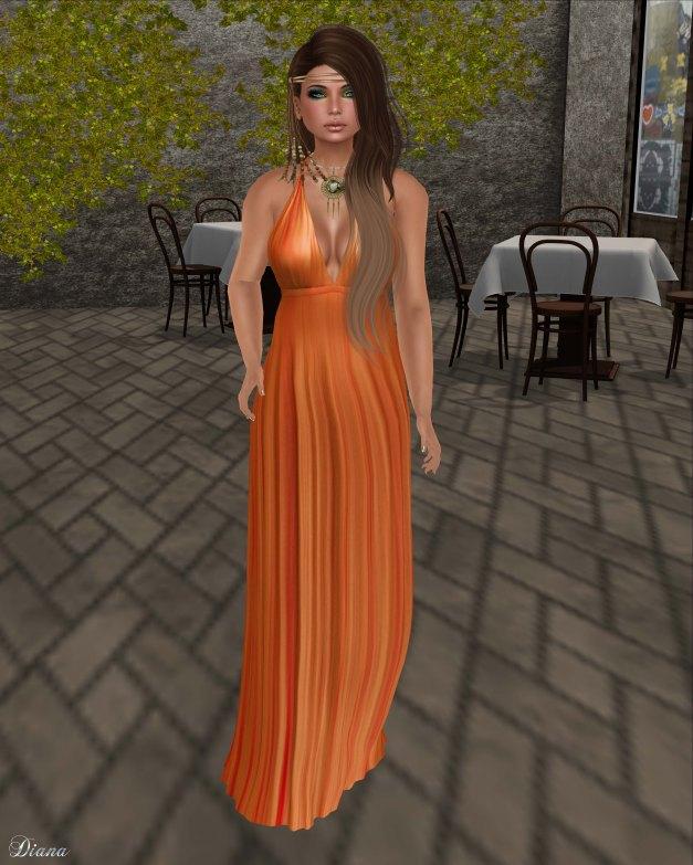 Baiastice - Bali Maxi Dress-sunset