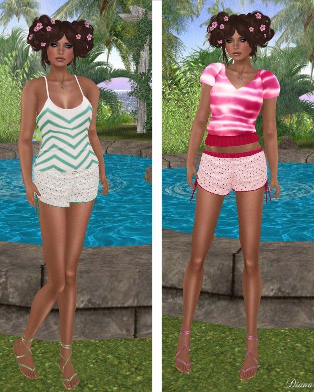coldLogic - top farah-top harmon-shorts bonamie