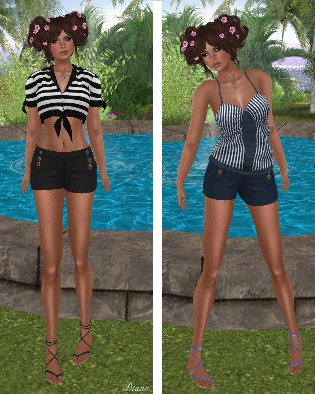 coldLogic - top saunders-top stratten-shorts sumner
