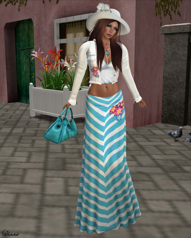 GizzA - Matilda Outfit Teal