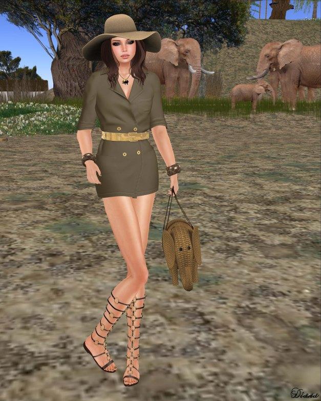 celoe - Kenya Dress (kabul)