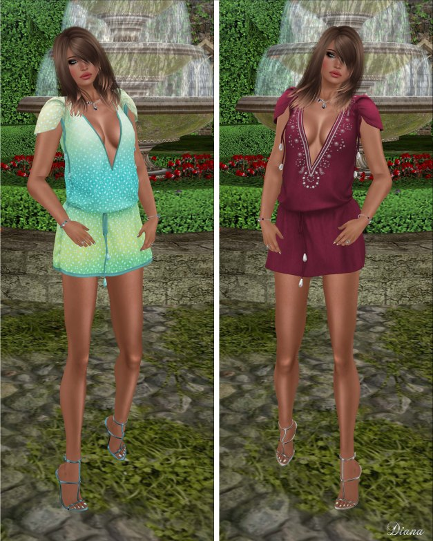 coldLogic - dress morello and dress wilde