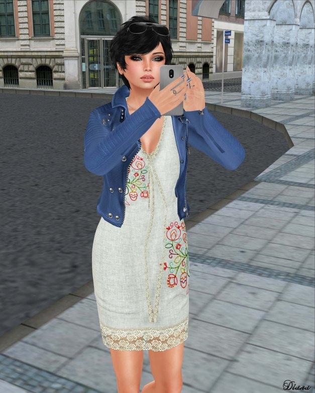 GizzA - Dakota Dress Boho Blue