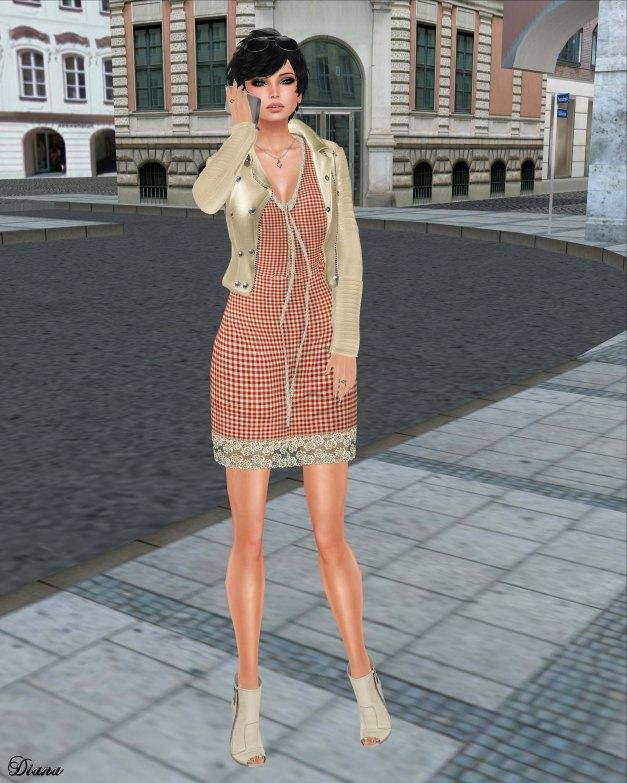 GizzA - Dakota Dress Gingham