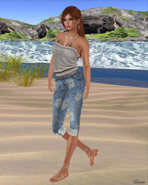 Lapointe & Bastchild - Swear Capri Pants-3