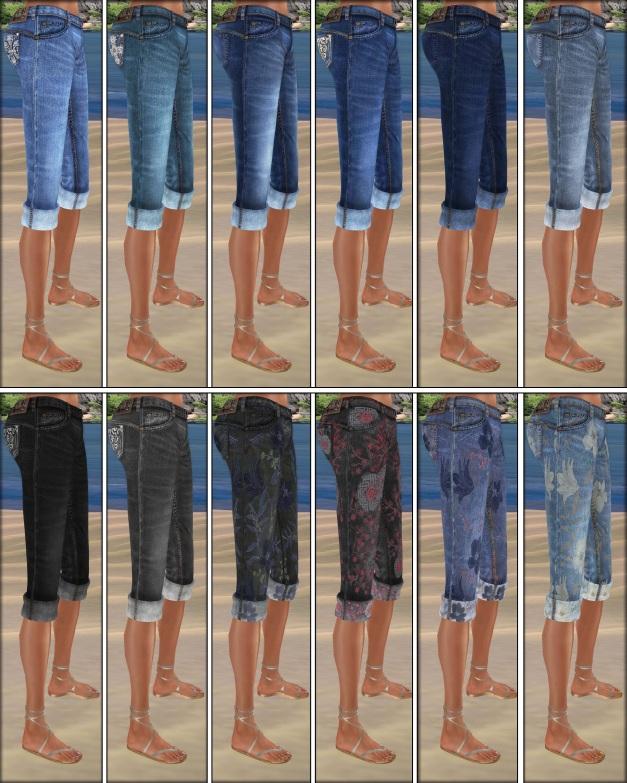 Lapointe & Bastchild - Swear Capri Pants-4
