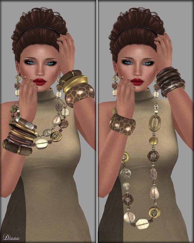 Mandala - Kyara Jewelry Set and Bangle Set