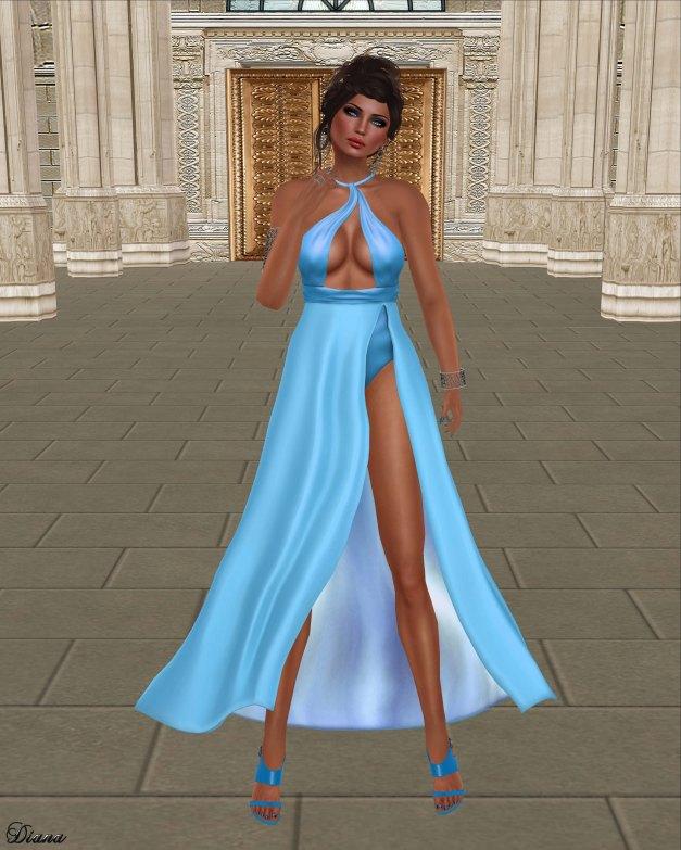 Baiastice - Petal Dress Azure