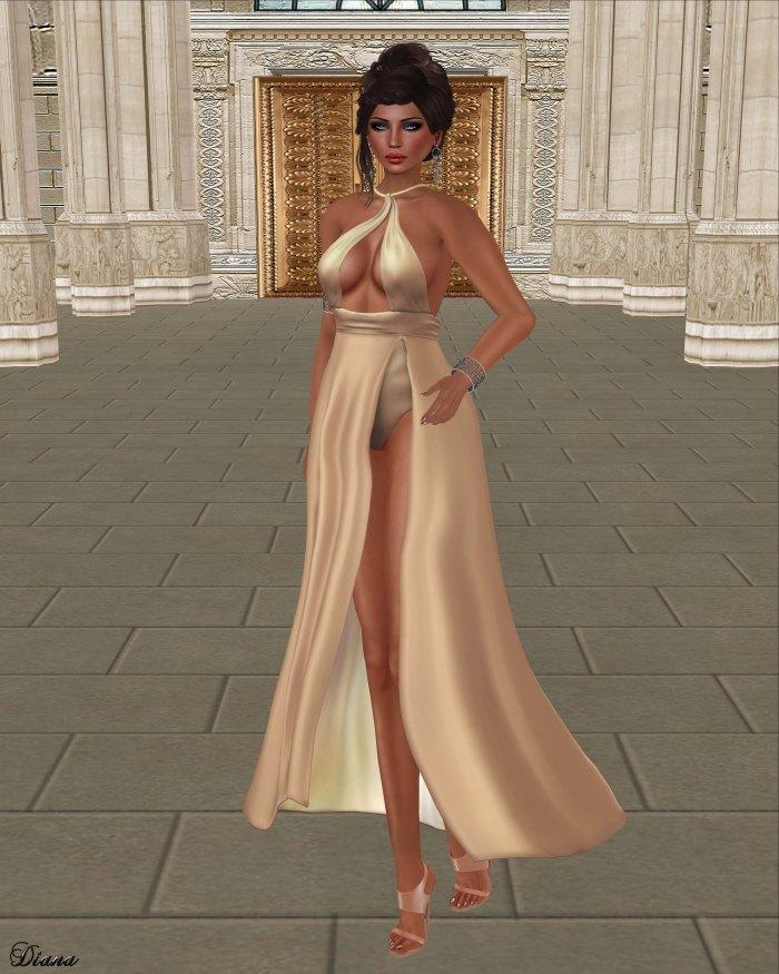 Baiastice - Petal Dress Nude
