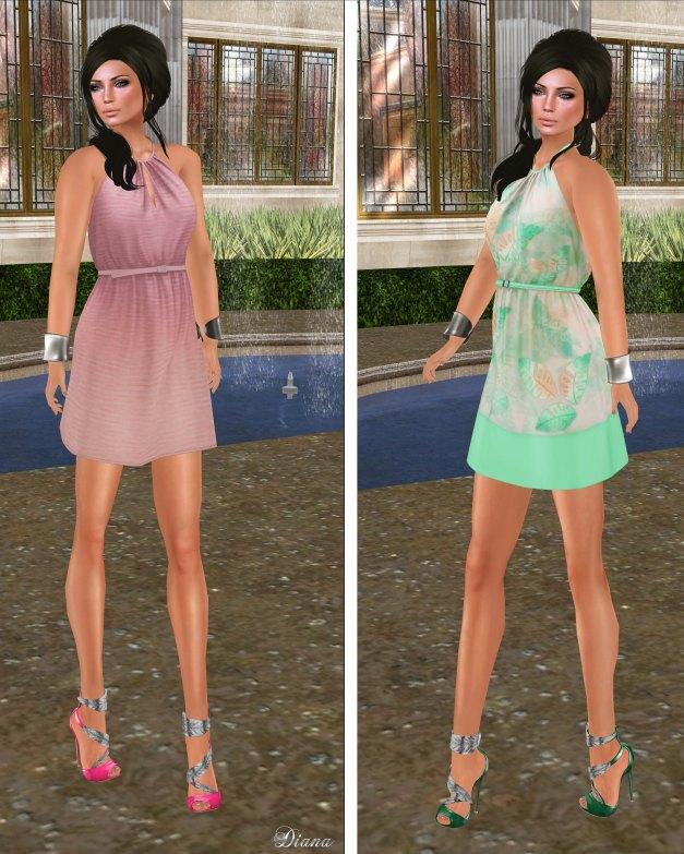 coldLogic - dress irelan pinky and kennedy mint