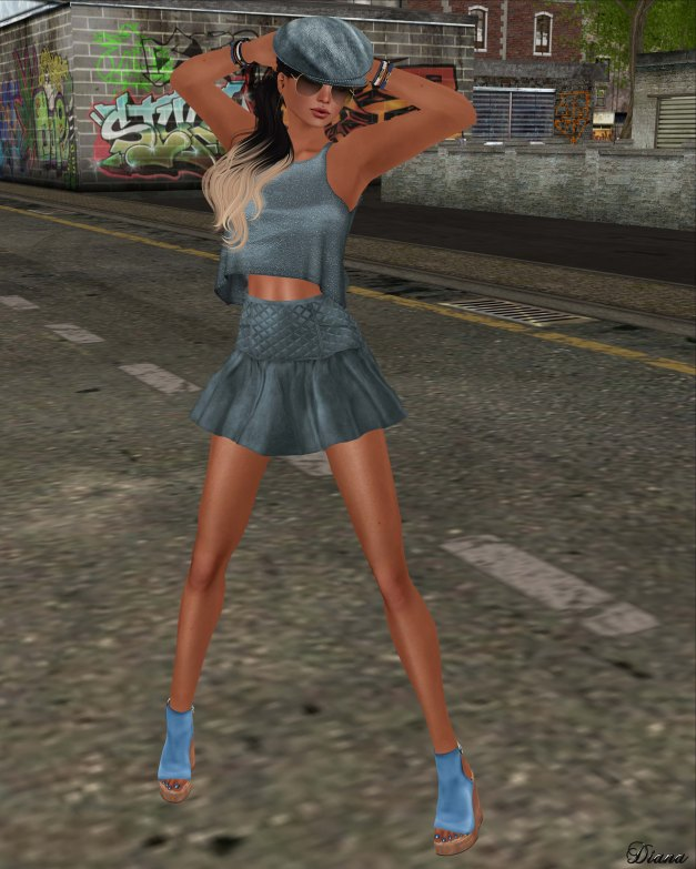 GizzA - Rebel Outfit Stone