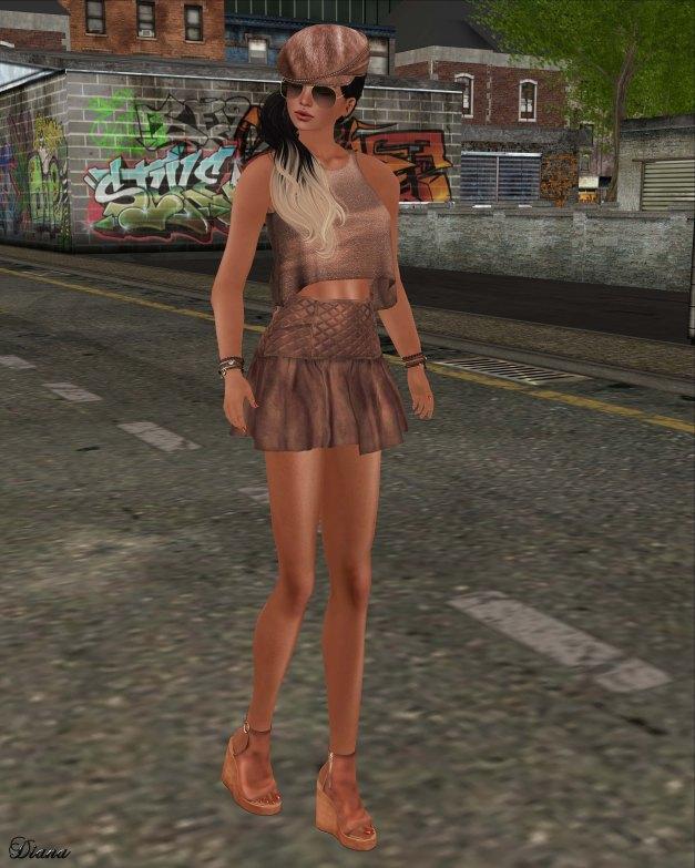 GizzA - Rebel Outfit Terracotta