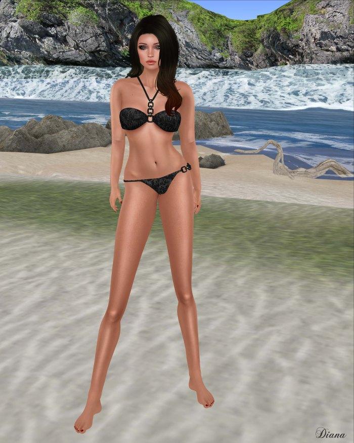 MC - Eclipse Bikini SetBlackSequin-2