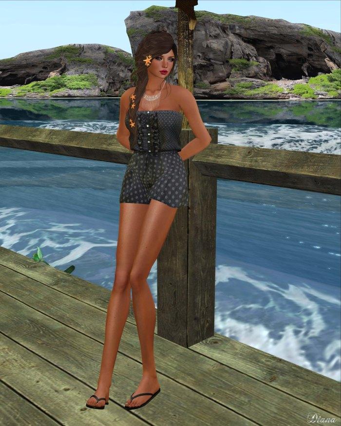 Redgrave - Mesh Romper Suit-2