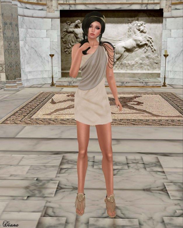 Zenith - Athena Mini Dress-1