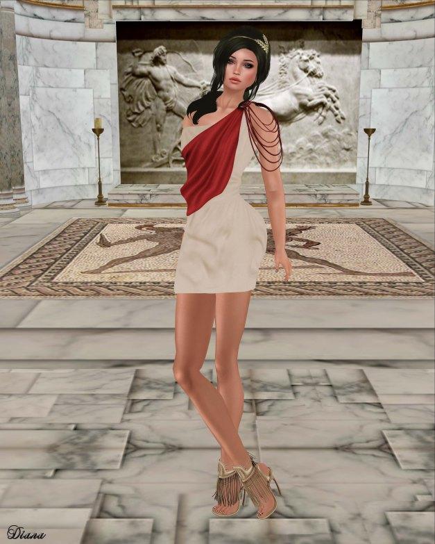 Zenith - Athena Mini Dress-2