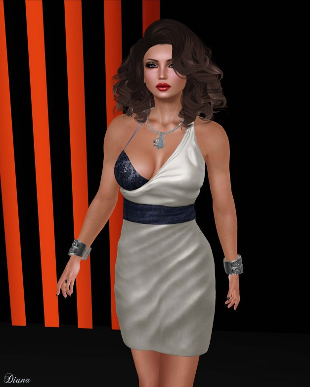 Baiastice - Elena Dress-pearl