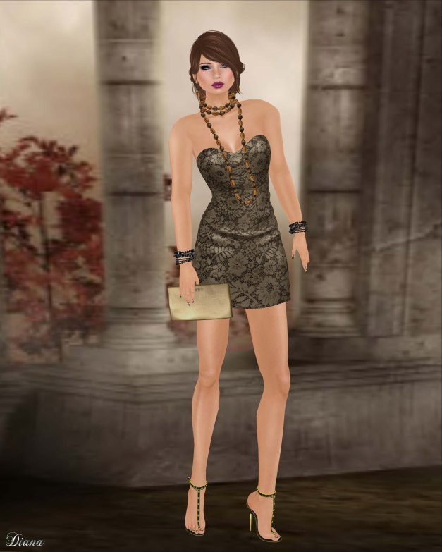 Baiastice - Rivia Minidress Tan