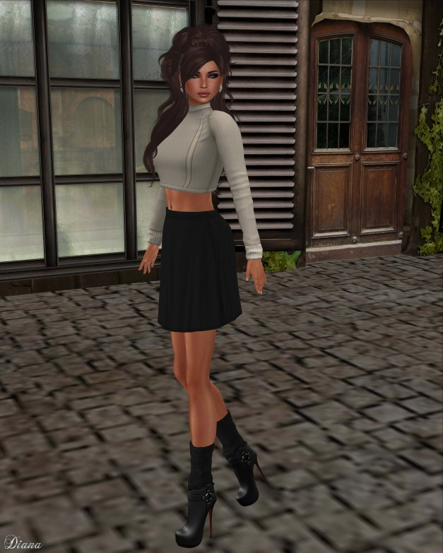 coldLogic - shirt caron and skirt childs