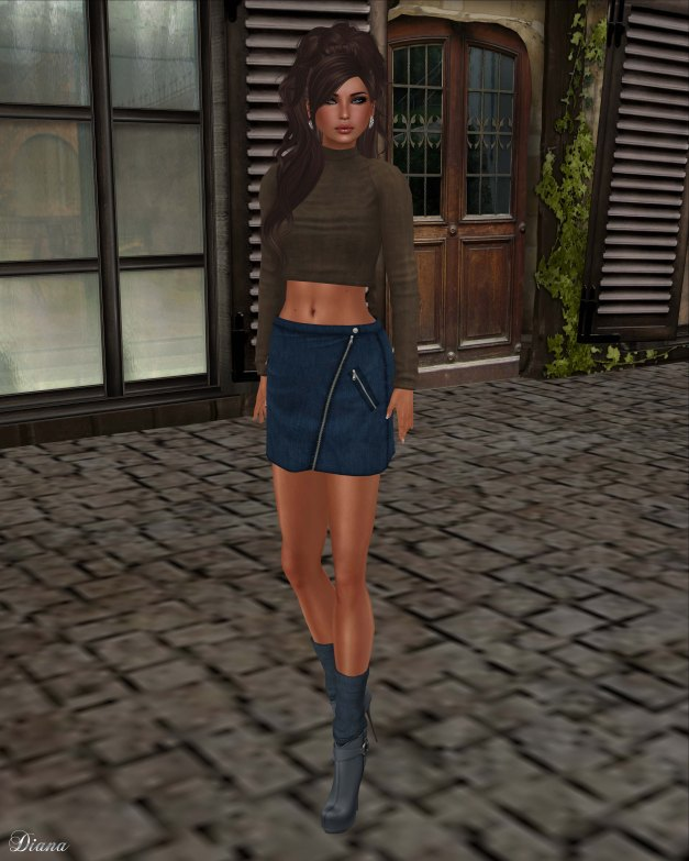 coldLogic - shirt leray and skirt spencer