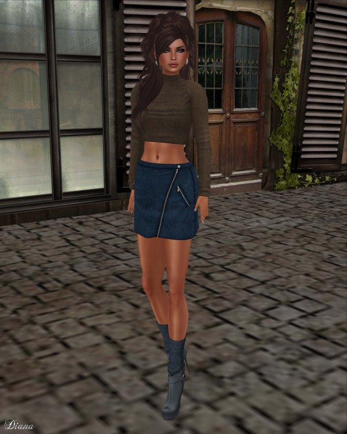 coldLogic - shirt leray and skirt spencer