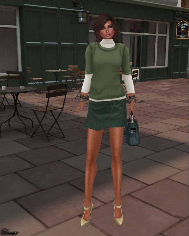 coldLogic - shirt webb and skirt leu