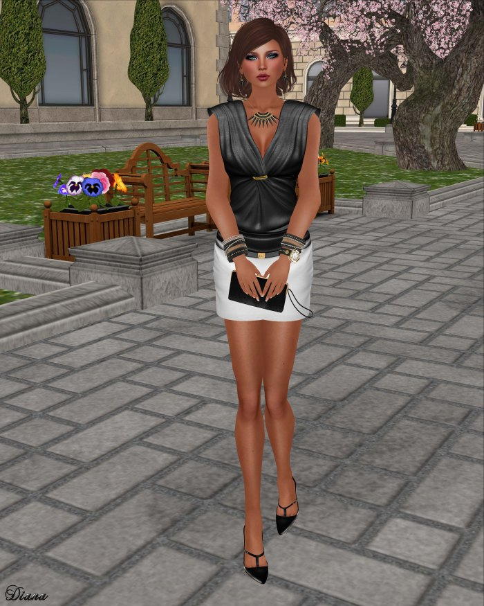 GizzA - Anne Marie Outfit BW