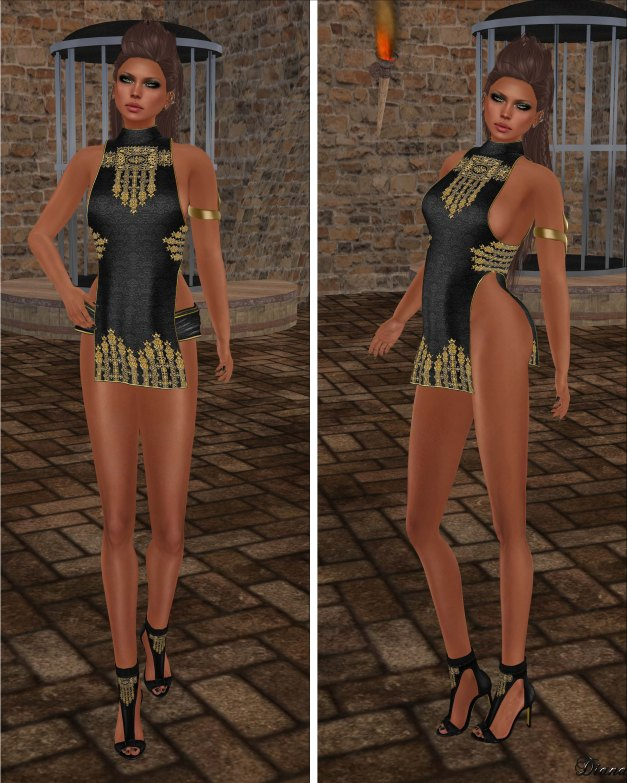 GizzA - Macha Outfit Embroidered