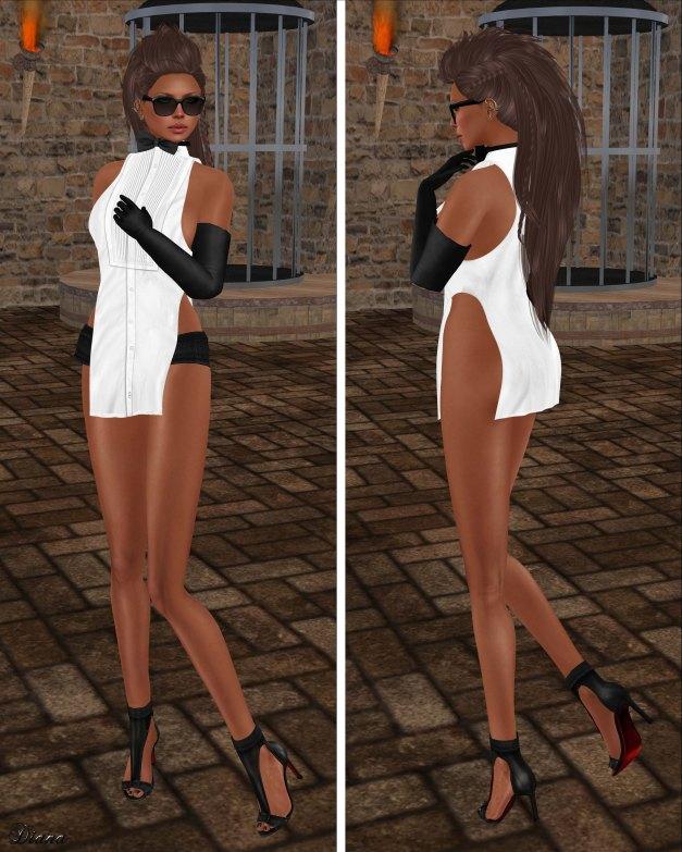 GizzA - Macha Outfit Tuxedo