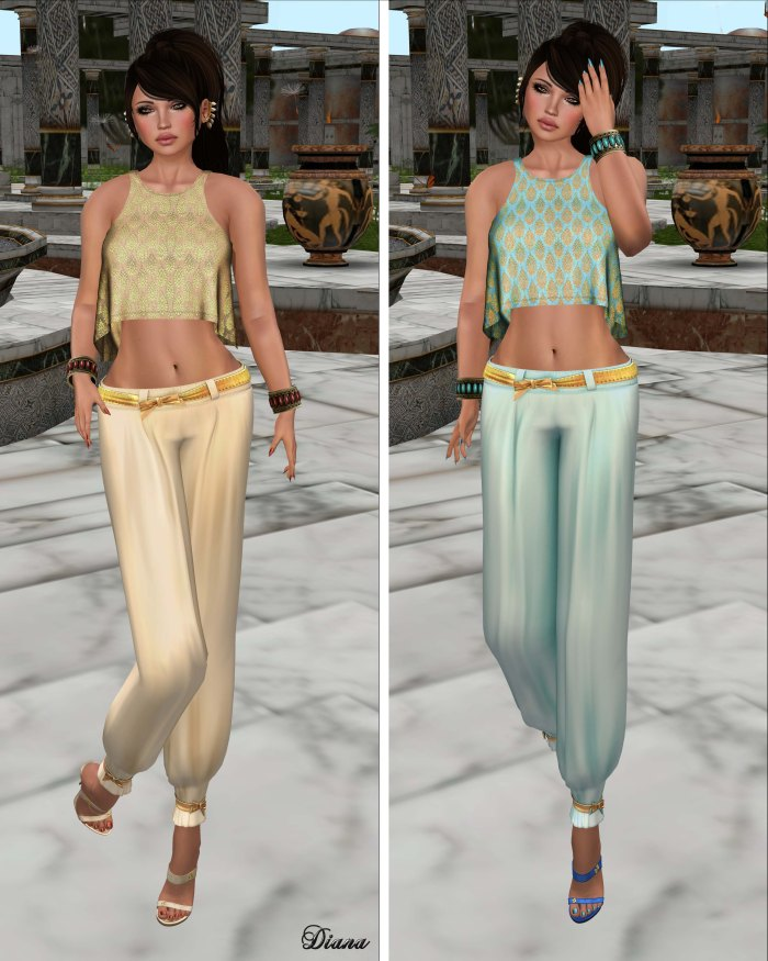 Indyra - Philosophy Sand and Turquoise