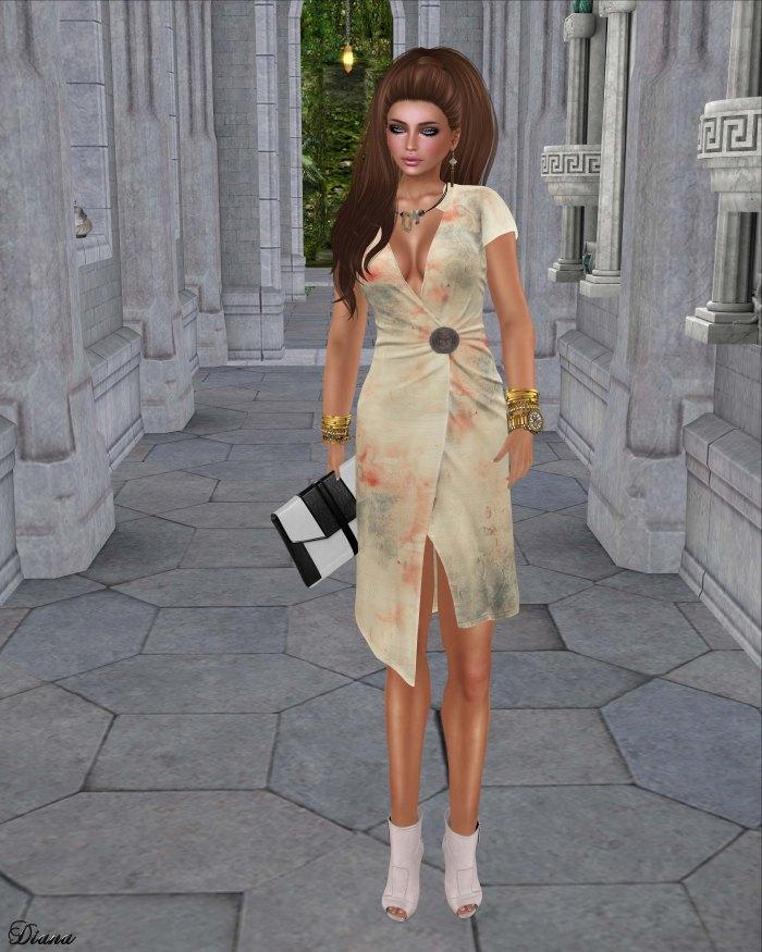 Maitreya - Wrap Dress (Celestial)