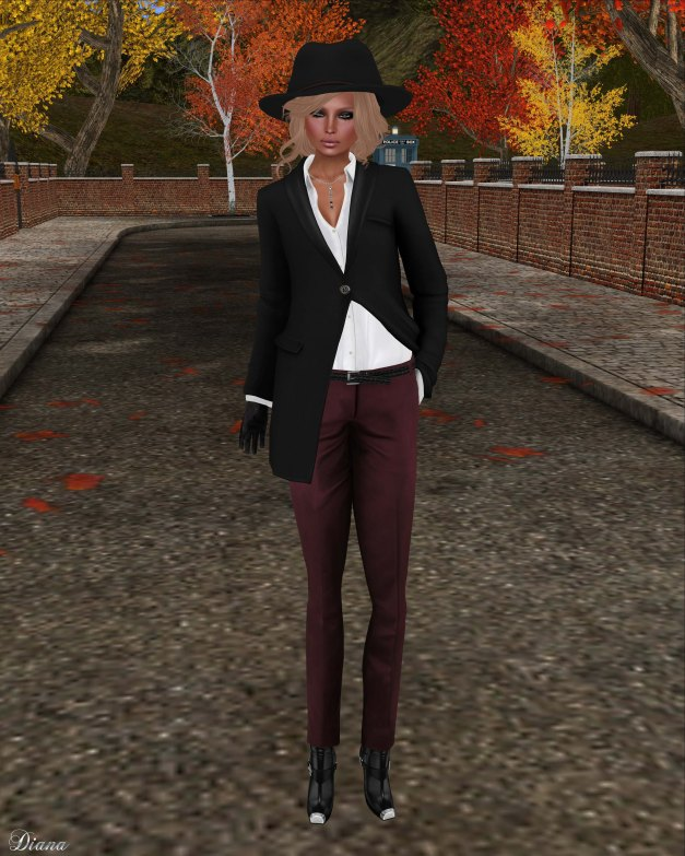 COCO - ShawlCollarCoat and TailoredPants-1