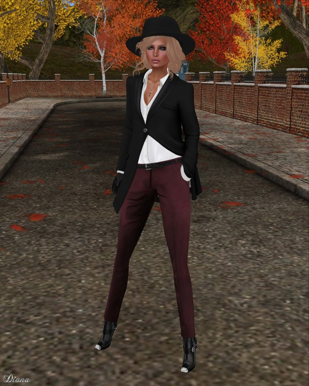 COCO - ShawlCollarCoat and TailoredPants-2
