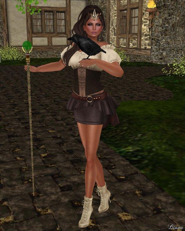 G Field - Mesh Elwyn Outfit chestnut