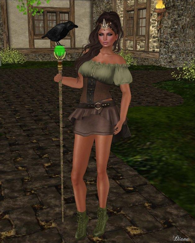 G Field - Mesh Elwyn Outfit forest