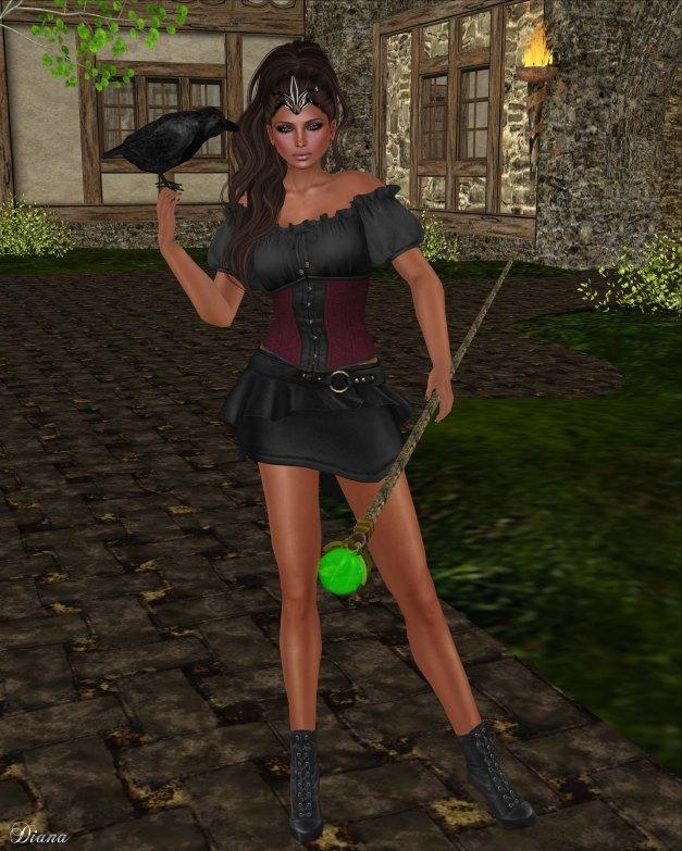 G Field - Mesh Elwyn Outfit vamp