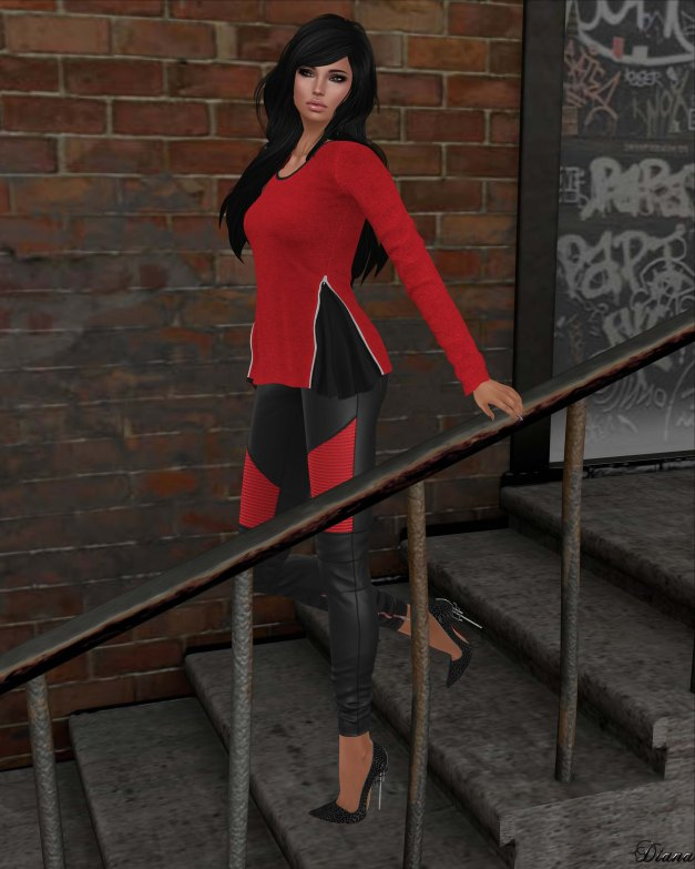 Mutresse - Malena Top and Nikita Leggings-1