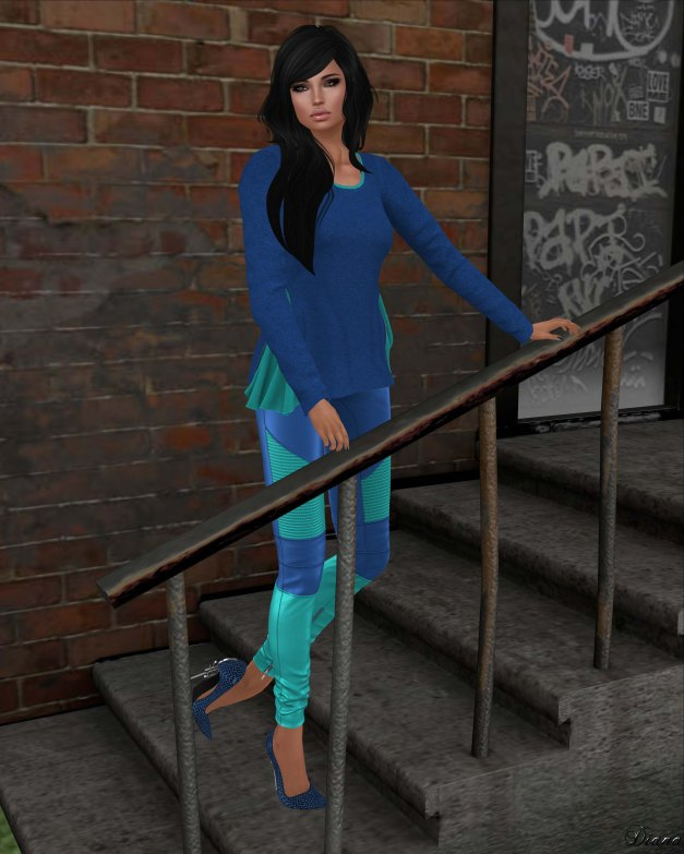 Mutresse - Malena Top and Nikita Leggings-2