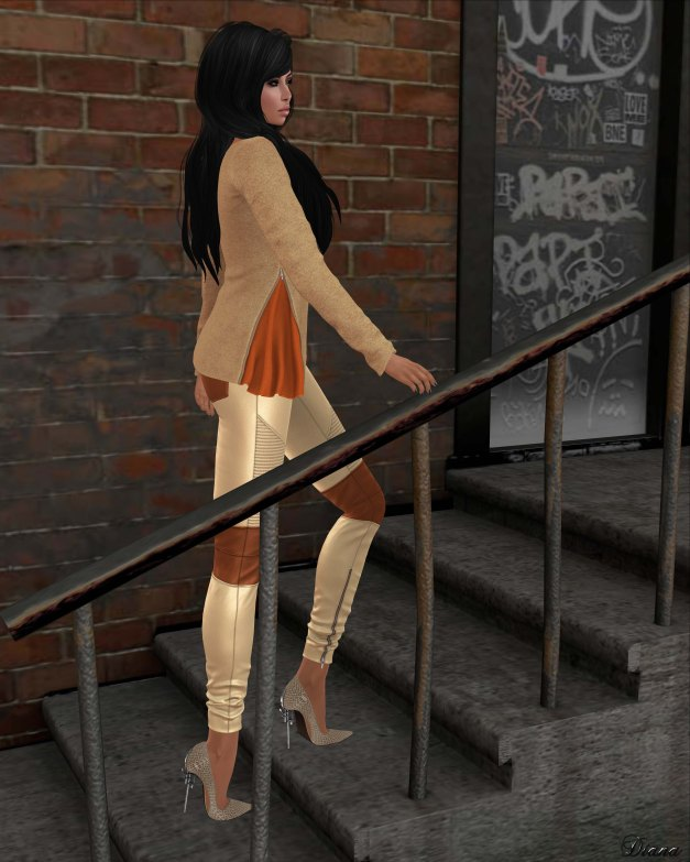 Mutresse - Malena Top and Nikita Leggings-3