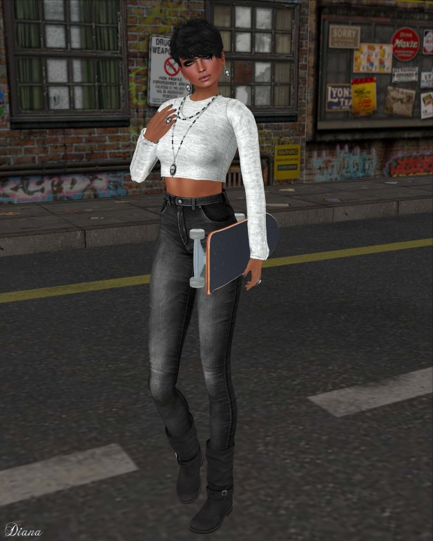 Spirit Store - Kusa Top and Skinny Jeans-2