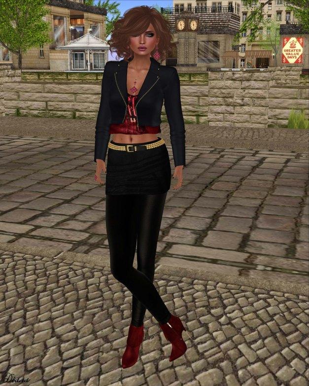 Baiastice - Kaji Jacket and Zoe combination black