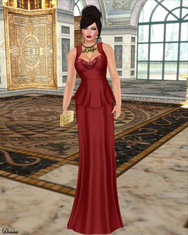 Baiastice - Kylie Dress-Red