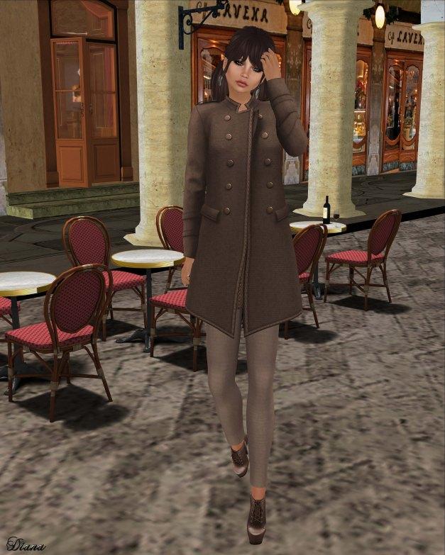 coldLogic - coat halfred and leggings hines