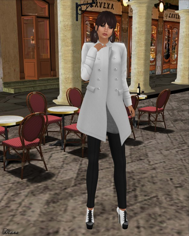 coldLogic - coat koby and leggings knight